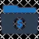 Financial Folder Finance Folder Budget Project Icon