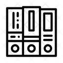 Financial Accounting Folders Icon