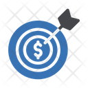 Financial Goal Financial Target Financial Aim Icon