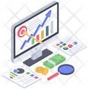 Financial Goals Financial Objective Financial Aim Icon
