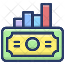 Financial Graph Business Graph Money Growth Icon