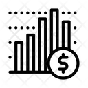 Financial Graph Chart Icon