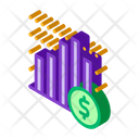 Bank Business Chart Icon