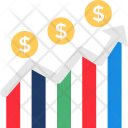 Finance Data Chart Icon