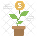 Financial Growth Business Icon