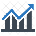 Financial Graph Growth Icon