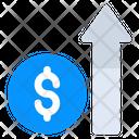 Financial Growth Increase Revenue Profit Icon