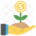 Finance Growth Personal Icon