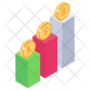 Growth Chart Business Analysis Business Statistics Icon