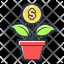 Money Growth Profit Financial Growth Icon