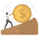 Financial Growth Money Growth Icon