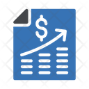 Financial Growth Money Growth Business Growth Icon