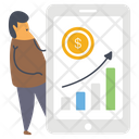 Financial Growth Chart Icon