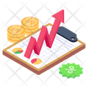 Sale Graph Capital Growth Business Statistics Icon