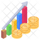Business Growth Financial Growth Chart Data Growth Icon