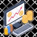 Data Chart Business Growth Data Analytics Icon