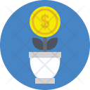 Financial Growth Concept Icon