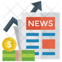 Financial Growth News Icon