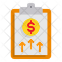 Financial Growth Report Icon