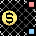 Dollar Network Dollar Hierarchy Dollar Icon