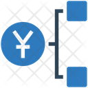 Yuan Network Yuan Hierarchy Dollar Icon