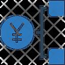 Yen Network Yen Hierarchy Dollar Icon