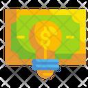 Idea Bulb Think Icon