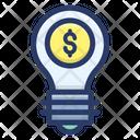 Financial Idea Business Idea Budget Plan Icon
