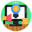 Business Idea Financial Idea Financial Promotion Icon