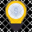 Business Idea Financial Idea Business Innovation Icon