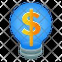 Business Idea Financial Idea Financial Innovation Icon