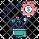 Financial Idea Generation Icon