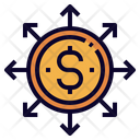 Financial Inclusion Coin Icon