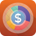 Dollar Pie Chart Icon