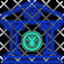 Mfinancial Institution Financial Institution Bank Icon