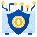 Insurance Fintech Security Icon