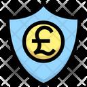 Pound Security Pound Shield Icon