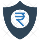 Rupees Shield Rupees Sheild Icon