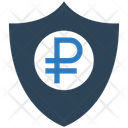 Ruble Security Ruble Shield Icon
