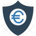 Euro Euro Security Shield Icon