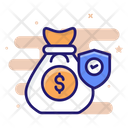 Financial Insurance Currency Icon