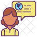 Financial Investment Chat Icon