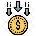 Financial Loss Icon