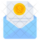 Financial Mail Financial Email Business Mail Icon