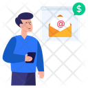 Business Mail Email Marketing Paid Email Icon