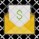 Financial Mail Financial Email Finance Mail Icon