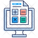 Auditing Accounting Business Analysis Icon