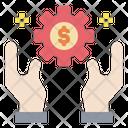 Hands Gear Money Icon