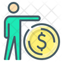 Own Funds Person Money Icon