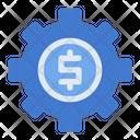 Money Management Gear Icon